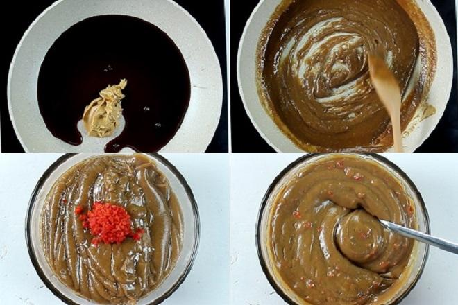 cách làm nước tương bơ đậu phộng ngon 1