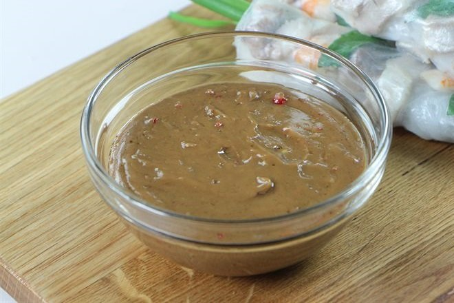cách làm nước tương bơ đậu phộng ngon 2