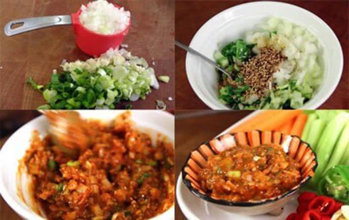 Cách làm thịt ba chỉ nướng kiểu Hàn Quốc ngon tại nhà 6