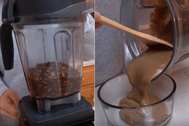 làm nước sốt bơ đậu phộng 1