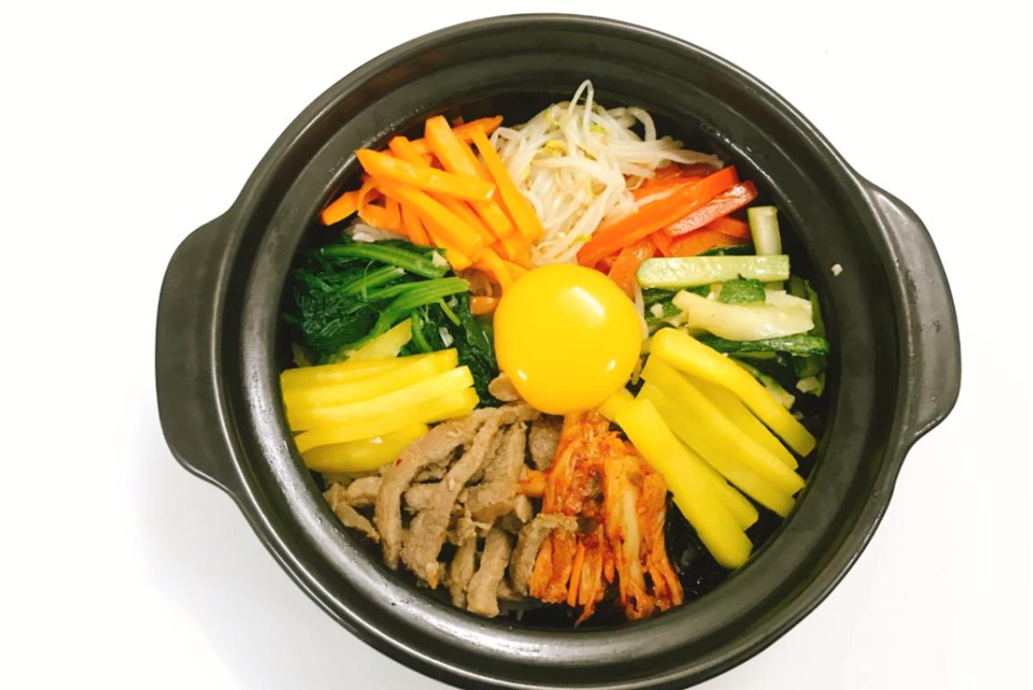 Cách làm cơm trộn kim chi Hàn Quốc 1