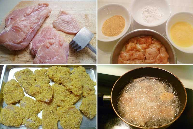 cách ướp thịt gà chiên 6
