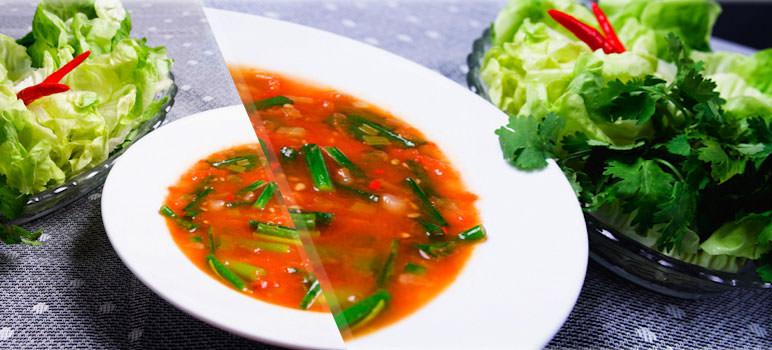 Cách làm nước chấm rau sống ăn một lần là nghiền mãi 4