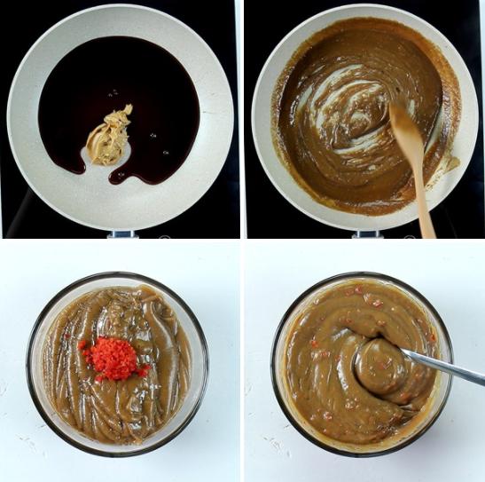 Không thể cưỡng nổi độ ngon với cách làm nước chấm tương đậu phộng 2