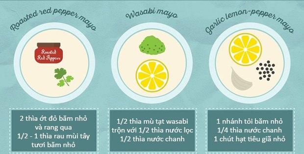 20 cách làm nước chấm từ sốt mayonnaise ngon tuyệt cú mèo 1