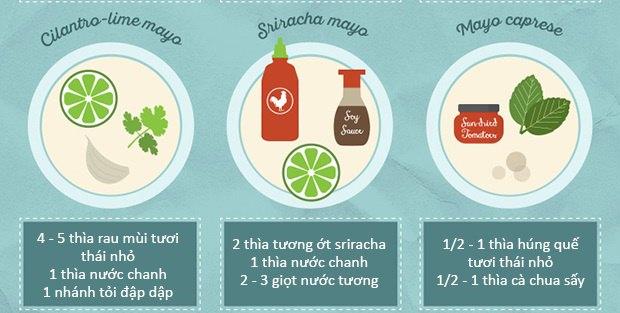 20 cách làm nước chấm từ sốt mayonnaise ngon tuyệt cú mèo 3