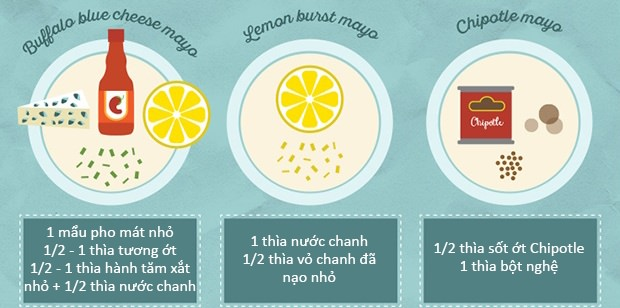 20 cách làm nước chấm từ sốt mayonnaise ngon tuyệt cú mèo 4