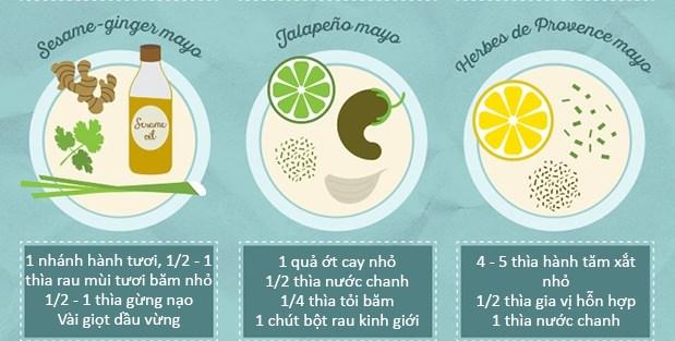 20 cách làm nước chấm từ sốt mayonnaise ngon tuyệt cú mèo 6