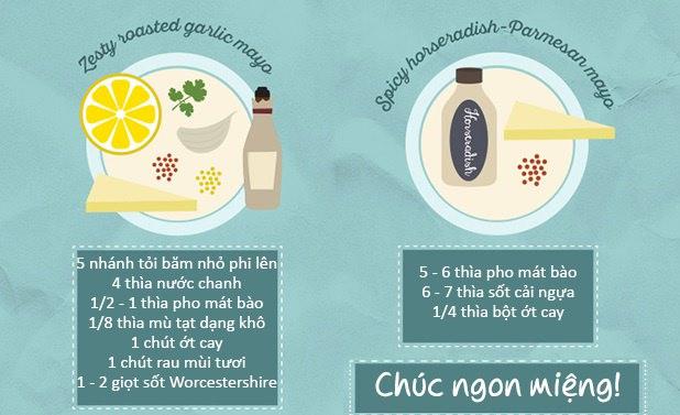20 cách làm nước chấm từ sốt mayonnaise ngon tuyệt cú mèo 7
