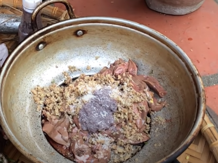 cách làm thịt chó nướng lá na