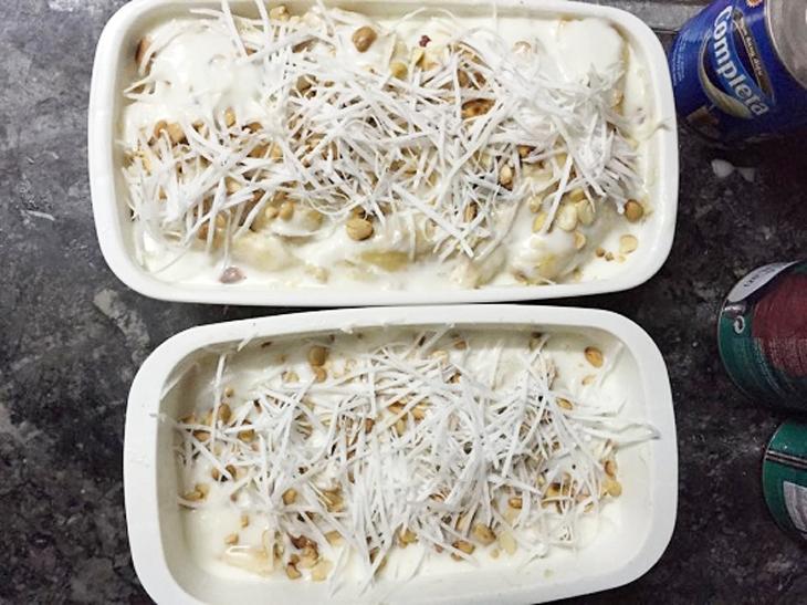 Cách làm kem chuối hộp ngon
