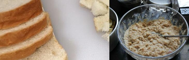 Cách làm bánh chuối nướng bằng bánh mì sandwich 3