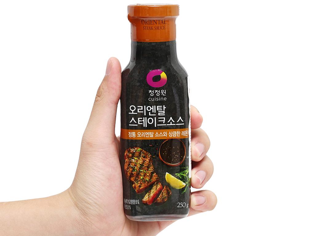 Sốt bít tết Chung Jung One chai