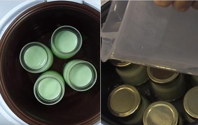 cách làm sữa chua bằng nồi cơm điện