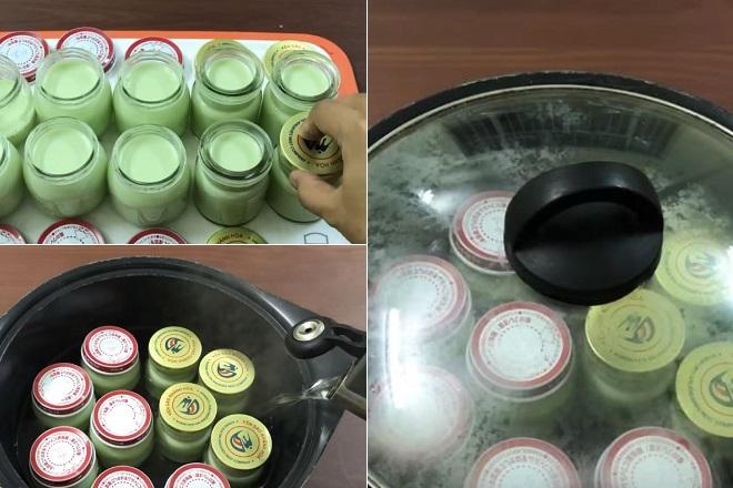 cách ủ sữa chua bằng nồi thường