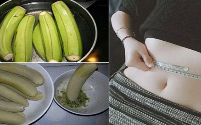 ăn chuối luộc có giảm cân không