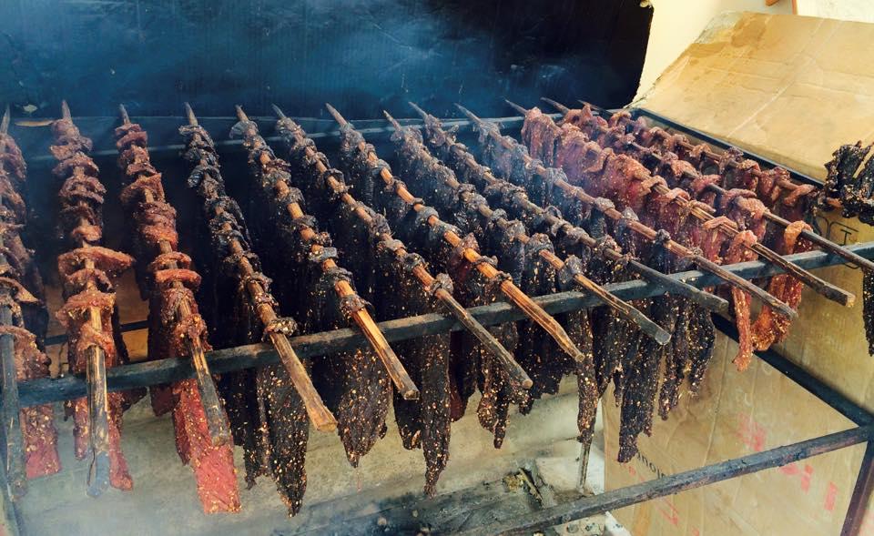 cách làm thịt trâu khô