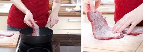 chế biến thịt nai tươi
