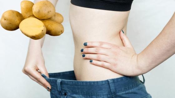 giảm cân bằng khoai tây được không