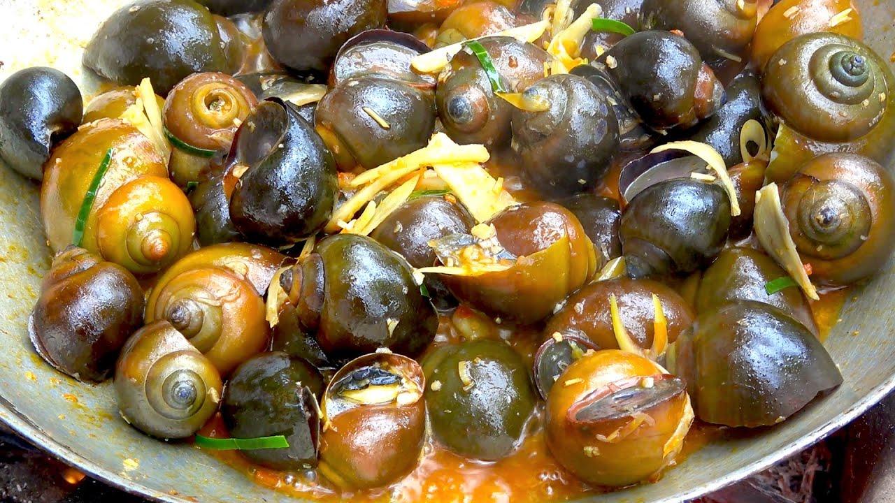 các món ngon từ ốc bươu vàng