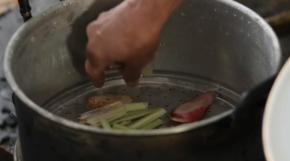 Hấp thịt bê