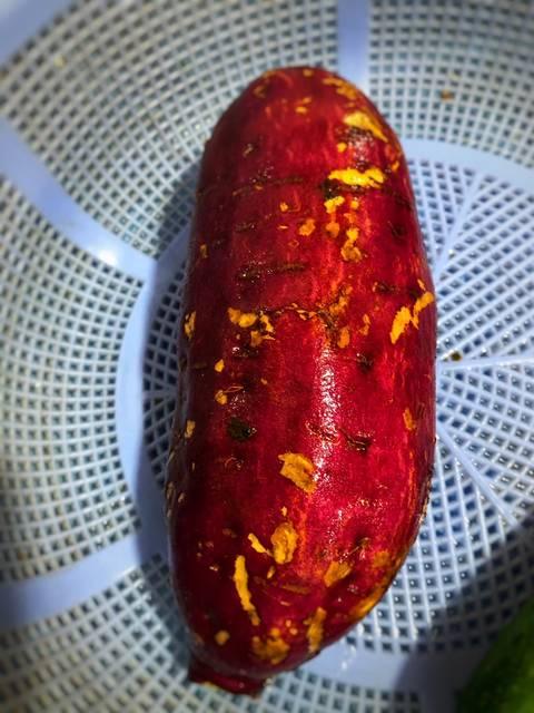 Cách luộc khoai lang bằng nồi cơm điện 0