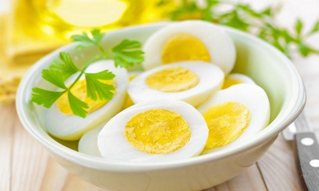 cách luộc trứng ngỗng ngon