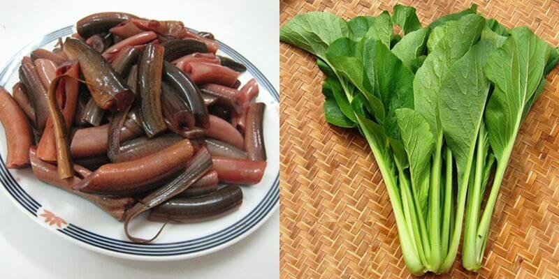 Cháo lươn nấu với rau gì cho bé ăn dặm 2