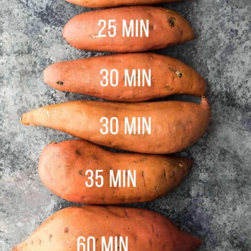 Luộc khoai lang bao lâu thì chín