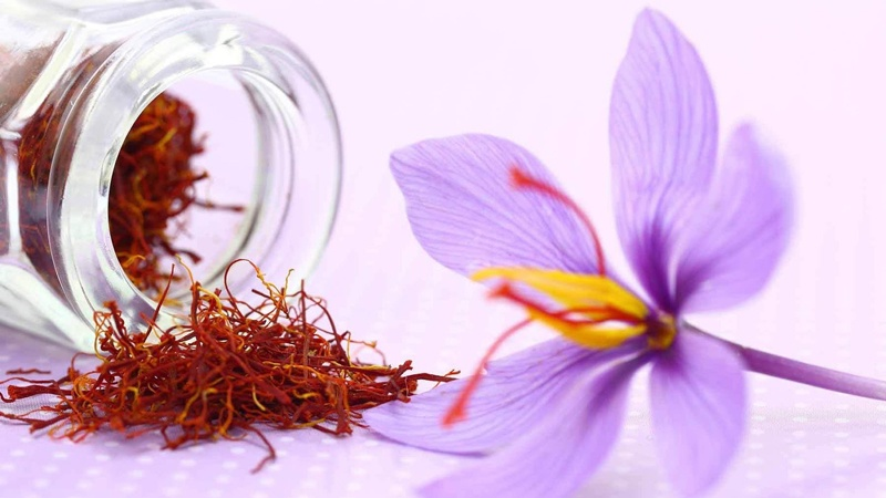 Tác dụng của nhụy hoa nghệ tây 6
