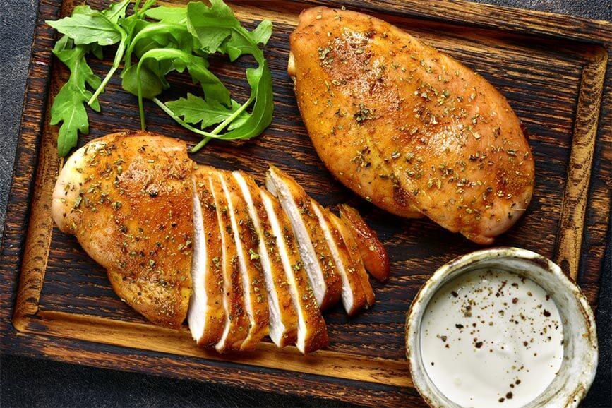 Thịt gà giàu giá trị dinh dưỡng