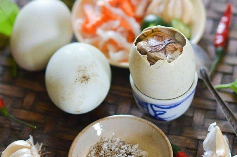 trứng vịt lộn có chất gì - chất dinh dưỡng có trong trúng vịt lộn