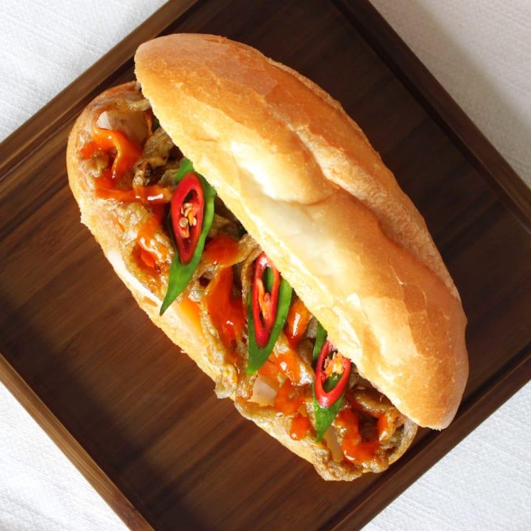 1 ổ bánh mì chả cá bao nhiêu calo