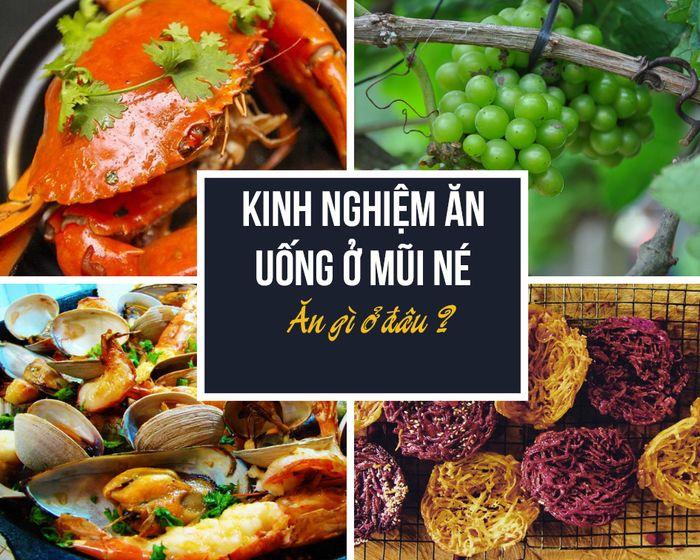 Khám phá thiên đường ẩm thực ở Mũi Né