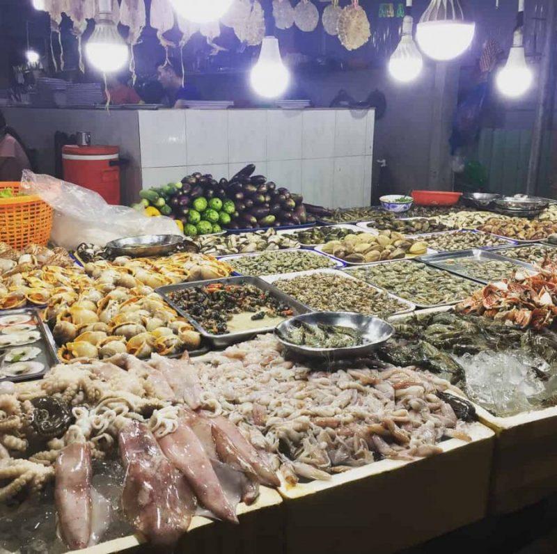 Các loại hải sản ở Vũng Tàu