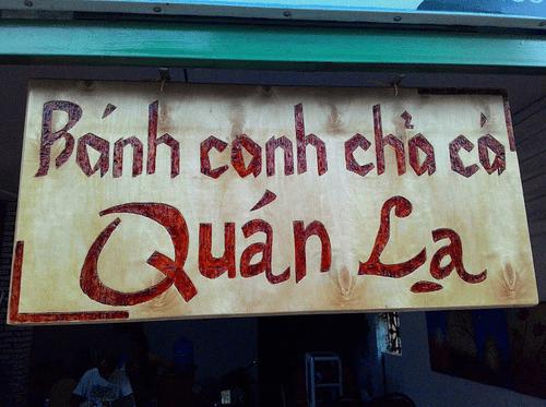 Bánh canh chả cá thu