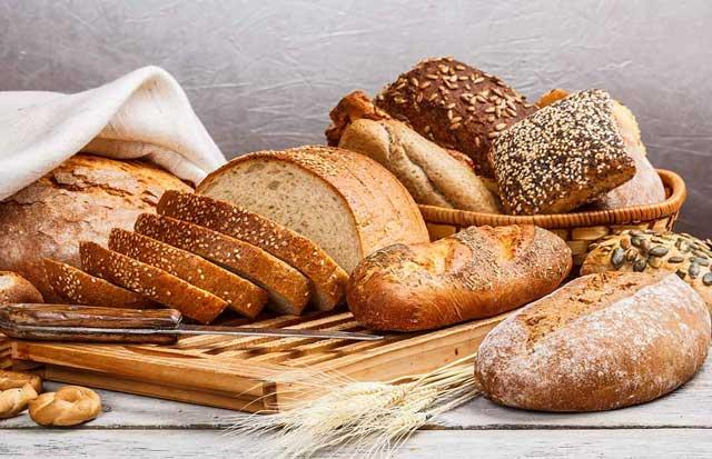 Bánh mì làm chủ yếu từ bột mì
