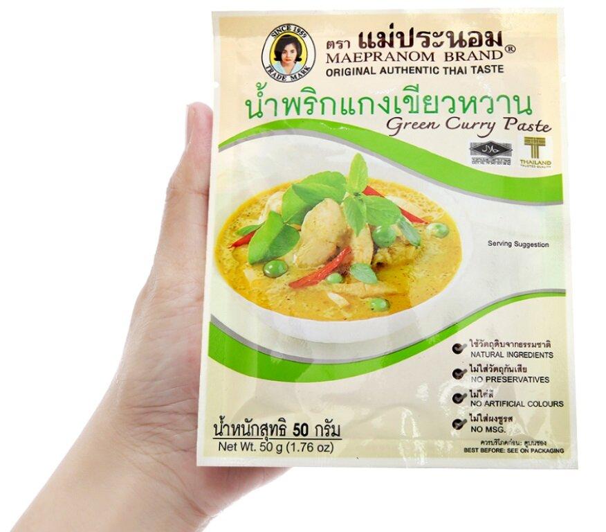 Gia vị lẩu thái chua cay Thái Lan Tom Yum Maepranom Eufood