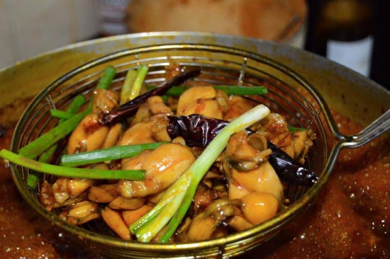 cách nấu cháo ếch singapore 0