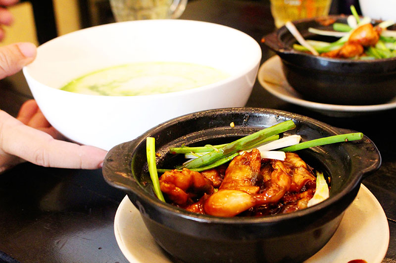 cách nấu cháo ếch singapore 5