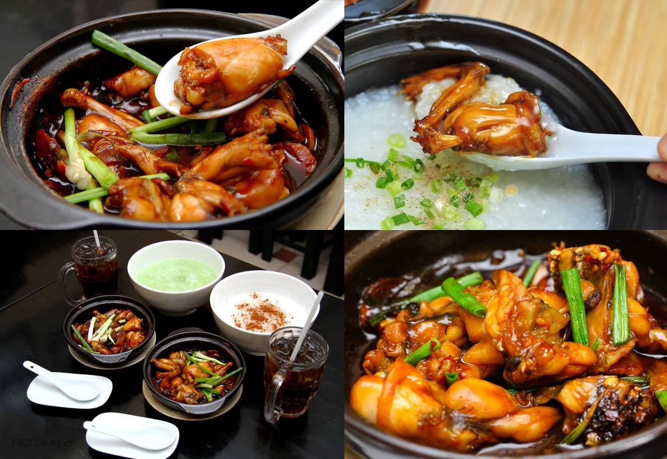 cách nấu cháo ếch singapore 7