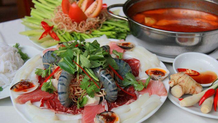 Lẩu thái hải sản chua cay ngon tuyệt