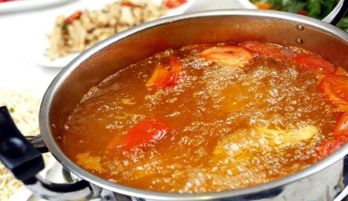 Nước dùng lẩu thái hải sản chua cay