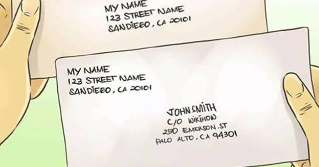Cách viết địa chỉ bằng tiếng Anh