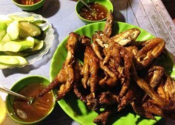 chân gà nướng Nghĩa Tân