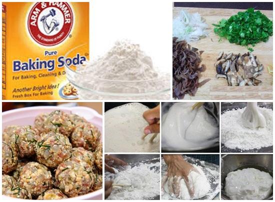 Công dụng của baking soda trong làm bánh