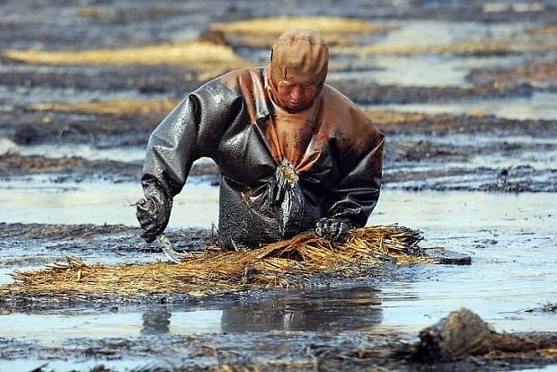 Tai nạn tràn dầu ở vùng biển Trung Quốc