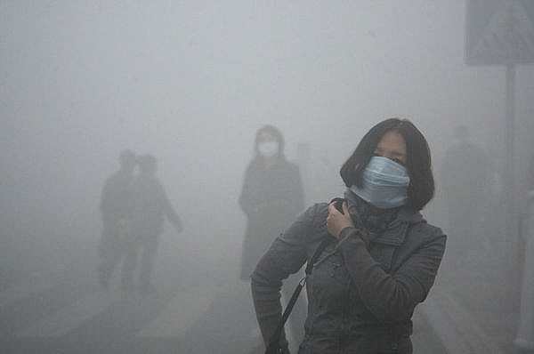 Không khí ở phía bắc Trung Quốc đang ô nhiễm vượt mức cho phép
