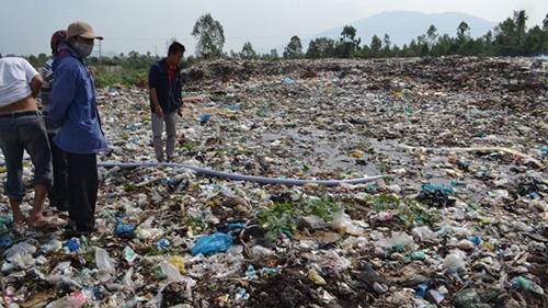 Hình ảnh về ô nhiễm đất 1
