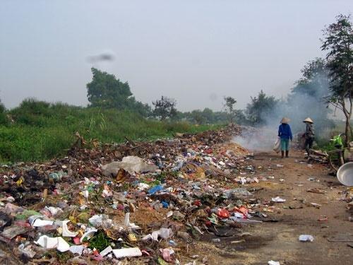 Hình ảnh về ô nhiễm đất 2